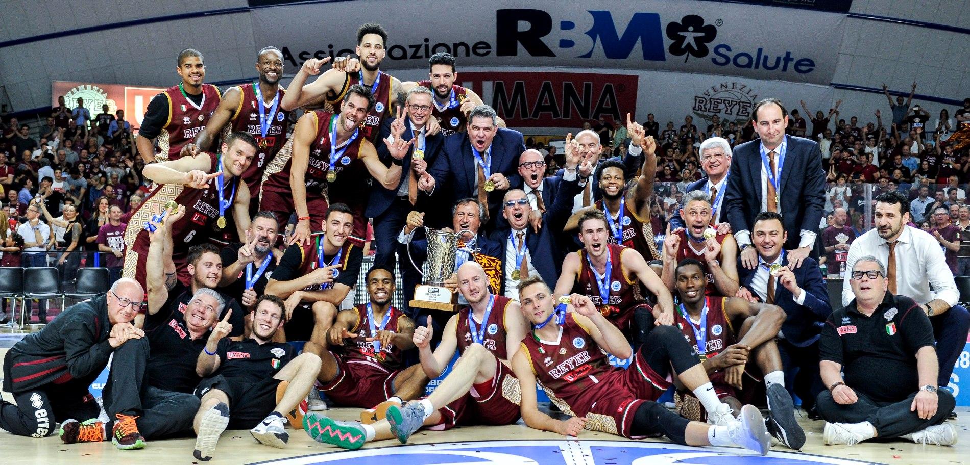 Reyer Venezia Europe Cup